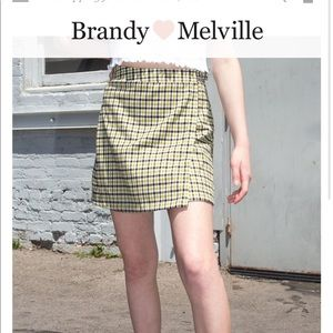 Green Brandy Melville Skirt (shown in 3rd picture)